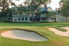 The Country Club - Brookline, Massachusetts! The oldest Country Club in the US - Hosted the US. Open 3 times - 1913, 1963, 1988