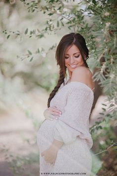 Comfy Over sized sweater- Maternity shoot