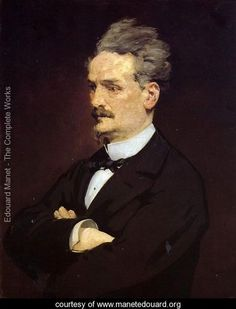 Portrait of M. Henri Rochefort - Edouard Manet - www.manetedouard.org