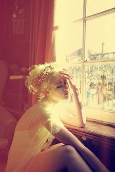 Beautiful light on blonde beauty