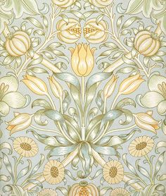 William Morris Lily & Pomegranate wallpaper