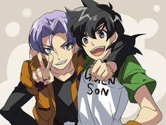 Dragon Ball Z anime Trunks and Goten Dragon Ball Gt, Dragon Z, Dbz, Sasunaru, Goten E Trunks, Manga, Otaku, Avatar, Fanart