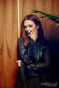 Julianne Moore for The Hollywood Reporter