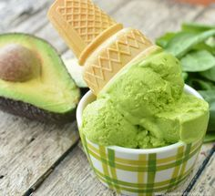 avocado ice cream 2 from super healthy kids.jpg1 cup coconut milk 1 tablespoon lemon juice 1 avocado 1 cup frozen kale or spinach 1 tablespoon maple syrup 1/2 cup plain yogurt.