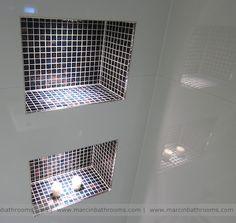 Porcelanosa mosaic tiles #porcelanosa #marcinbathrooms #mosaictiles