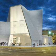 New Institute for Contemporary Art by Steven Holl Architects (Project)