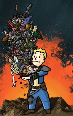 Just training, been playing Fallout new vegas and Fallout 3 lately, please leave a comment if you like. Fallout - You're Over encumbered Video Game Art, Video Games, Fallout 3 New Vegas, Fallout Wallpaper, Zombie Wallpaper, Fallout Fan Art, Fallout Mods, Fallout Cosplay, Bioshock Cosplay