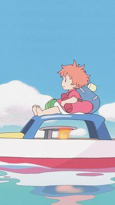 핸드폰 배경화면 추천 모음 : 네이버 블로그 Cute Anime Wallpaper, Cute Cartoon Wallpapers, Animes Wallpapers, Studio Ghibli Art, Studio Ghibli Movies, Totoro, Studio Ghibli Characters, Japon Illustration, Cute Anime Pics