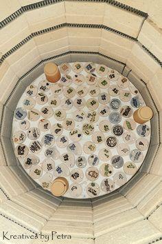 einen Blick in meinen Brennofen ;-)) viele verschiedene Geschenkanhänger aus Keramik...von kreativesbypetra .............. #Keramik #ceramik #brennofen #Glasur #glasurbrand #glaze #ton #töpfern #töpferei #plattentechnik #geschenkanhänger #anhänger #botz Petra, Stepping Stones, Outdoor Decor, Food, Home Decor, Mandalas, Mosaics, Canvas, Stair Risers