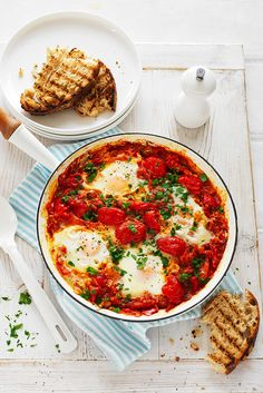 Make this shakshouka eggs recipe as the perfect idea for weekend eating