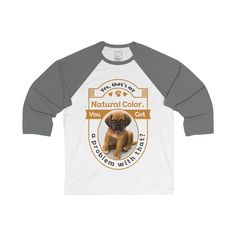 """""""Yes,That's my natural color"""" Bella Canvas Unisex Classic Baseball T-shirt"""
