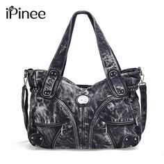 Aliexpress.com : Buy iPinee 2017 fashion women bag denim casual lady shoulder bags designer handbags high quality big jean bags from Reliable ladies shoulder bag suppliers on iPinee Store