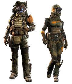 Sniper Militia Pilot