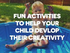 Check Out The Epic List Of Activities, Toys And Ideas To Help Your Child Develop Their Creativity! Please be sure to repin this!