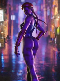 Street Fighter, Cammy, by system bleed