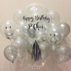 เป็นอีกเซตยอดฮิตมากๆค่า สีขาว-เงิน สวยหรู ใช้ได้ทุกงานจีจีHappy Birthday to K.Choi and thank you K.Mint mak mak na ka ______________________________________________________ BalloonHubb ตามใจลูกค้ายิ่งกว่าแฟน!! แม่ค้าใจดีมากกก แอดไลน์เลยค่า หรือโทรมาคุยก้อได้น้า~☺️ •••• : @ hiballoonhubb (มี @ ด้วยนะคะ) ••••••••• ☎ : 086.533.8383••••••••••••••••••••••••••• ส่ง 24 ชม (เฉพาะกทม&ปริมณฑล ค่ะ) •••••••••• IG : BalloonHubb••••••••••••••••••••••••••••• ใช้งานลูกโ