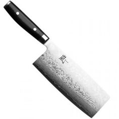 Yaxell Ran damascus chinese cleaver Cooks Knife, Chef Knife, Kitchen Knives, Kitchen Gadgets, Cooking Games For Kids, Cooking Trout, Best Chefs Knife, Global Knife Set, Leather Pearl Necklace
