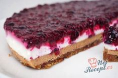 s chia semínky Healthy Cake, Vegan Cake, Healthy Sweets, Healthy Baking, Gluten Free Sweets, Dairy Free Recipes, Raw Food Recipes, Sweet Recipes, Perfect Cheesecake Recipe
