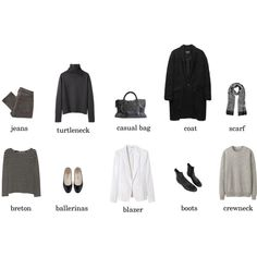 MINIMAL + CLASSIC: 10 items by eizhowa featuring Margaret Howell, R13, Isabel Marant, rag & bone, MARC BY MARC JACOBS, A.P.C., Balenciaga, Uniqlo and Forzieri