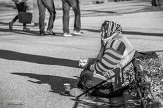 """Please"" - Street photography   Flickr - Photo Sharing!  #street #streetphoto #streetphotography #candid #bw #monochrome #bergen #beggar"