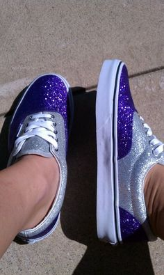 sparkly Vans <3 dang I really want these