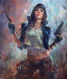 Bad girl  by Marta Nael @martanael Spain.  Плохая девчонка  Марты Наэль Испания.  #иллюстрация #искусство #графика #холст #арт #выставки #art #illustration #pencil #artsy #drawing #draw #digitalart #mixedart #sketchbook #graphic #exhibitions #timetoart