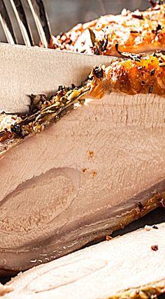 herb roasted turkey breast herb rubbed roasted turkey breast this rub ...