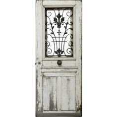 Weathered doors ❤ liked on Polyvore