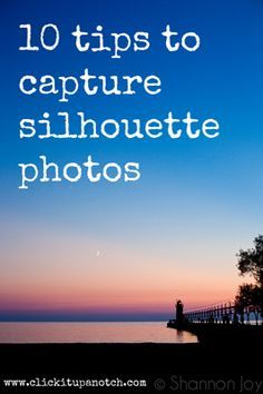 Here's to the silhouette loving photographers! Great tips & Ideas from Courtney! I love Silhouettes - this inspires me to try a few more styles. Silhouette Photos: 10 Tips for Capturing Them. Photography Lessons, Photography Camera, Photoshop Photography, Photography Tutorials, Photography Business, Photography Photos, Digital Photography, Nature Photography, Wedding Photography