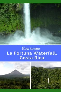 Hike 400 steps to see the La Fortuna Waterfall in Costa Rica. Tips and Trick on how to #travel to the waterfall. http://asoutherntraveler.com