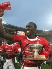 Kayange is well known within the rugby sevens community, as he has produced some of the best performances for the Kenya national sevens side.  He is the IRB Mr. Clean Rugby Ambassador 2011