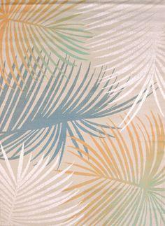 Regional Concepts Palm Leave Blue Area Rug