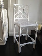 Chinois style bar stool