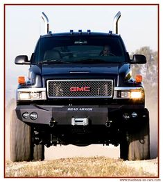 gmc lifted black truck