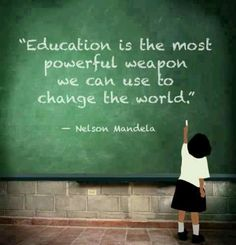 Nelson Mandela quote on education quotes