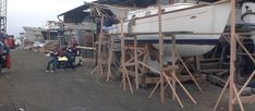 17. Improvised Scaffolding, Cranes & Jacks | Riversong HouseWright Wooden Scaffolding, Wood Structure, Home Security Systems, Carpentry, Crane, Ladder, Construction, Cabin, Diy
