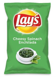 Wouldn't Cheesy Spinach Enchilada be yummy as a chip? Lay's Do Us A Flavor is back, and the search is on for the yummiest flavor idea. Create a flavor, choose a chip and you could win $1 million! https://www.dousaflavor.com See Rules.