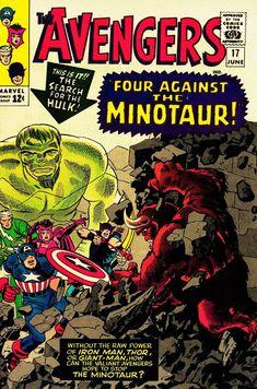 Rare Comic Books, Comic Books Art, Book Art, The Ind, The Minotaur, Silver Age Comics, Jack Kirby, Thor, Captain America