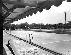 Audubon Park swimming pool.  I loved to go swimming in this pool as a child.  And then it closed!  I think it reopened a few years ago.