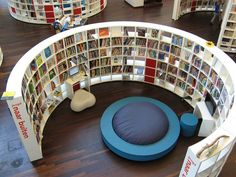 Public Library Amsterdam. The book need in me would love to spend hours, maybe days relaxing and reading.