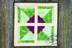 Pinwheel Flower Quilt Pattern – Whims And Fancies