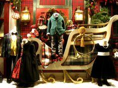 Ralph Lauren Christmas window...