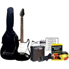 Kona Deluxe Electric Guitar Pack for Dummies Electric Guitars, Hobbies, Packing, Bag Packaging