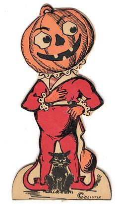 Johnny Pumpkin Small Standee by bindlegrim, via Flickr