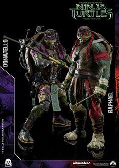 ToyzMag.com » TMNT : Donatello et Raphael arrivent chez Threezero