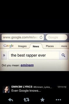 The best one . Rap God