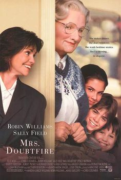Mrs. Doubtfire: Robin Williams reminds us that dads love us to very strange ends. Love seeing his hijinks in San Francisco. | Top ten Father's Day movies via HuffPost