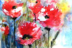 Field Poppies IV