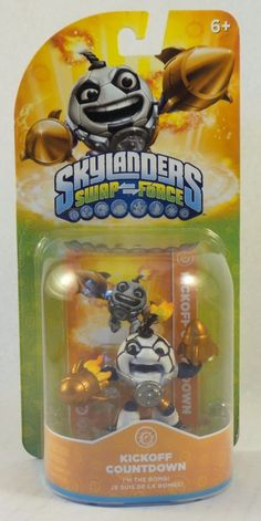 Activision Skylanders Swap Force Kickoff Countdown tech Soccer Football NIP #Activision