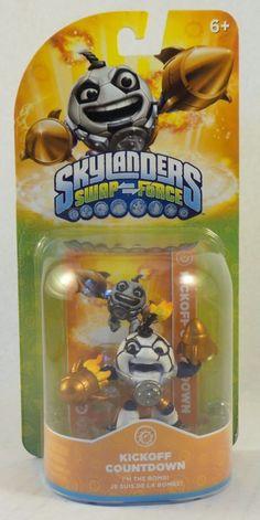Activision Skylanders Swap Force Kickoff Countdown tech Soccer Football NIP #Activision